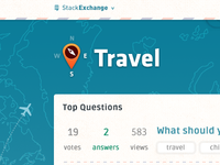 Stack Exchange Travel Site