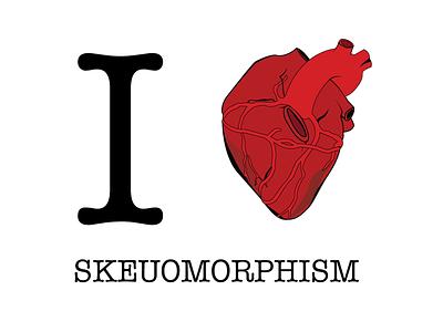 I Heart Skeuomorphism