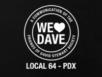 We Heart Dave Pamphlet Leather