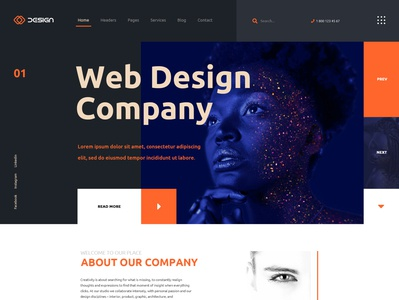 Template 2 for themeforest theme