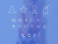 Outline Style Icons