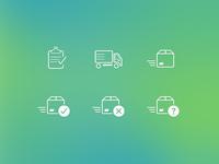 App Icons - Orders status