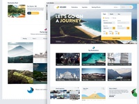 Landing page - Travel site