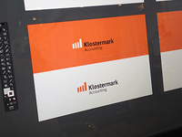 Logo/mark for Klostermark Accounting