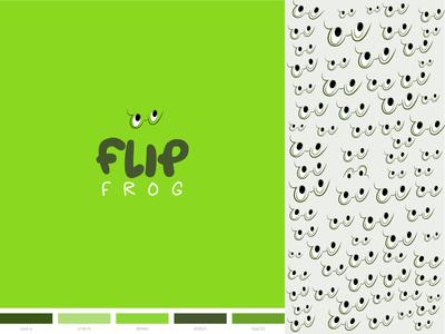 FlipFrog brand identity