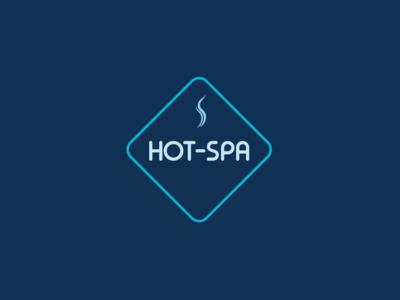 Hot-Spa word mark design