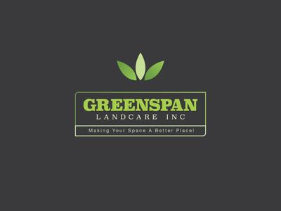 Greenspan logo design