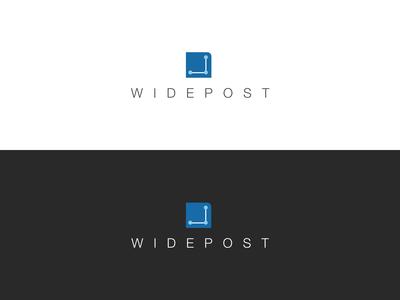 Widepost Logo Design