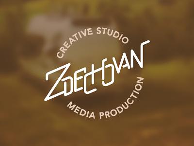Zdechovan Studio production studio zdechovan brown vector branding typography design cid symbol logotype logo