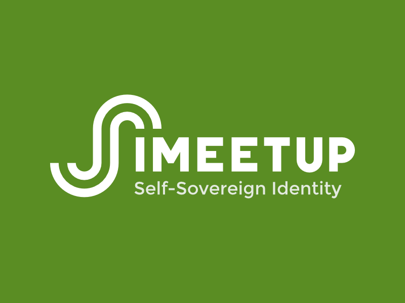 SSI Meetup Logotype project startup meetup identity green sovereign ssi logotype logo