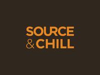 Source&Chill Logotype