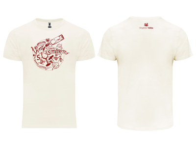 Winery T-shirts fun joke glass bottle wine cheers handmade white red drawing sketch illustration tshirt design tshirt winery