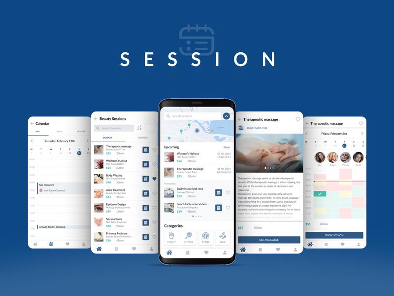 Session App Design