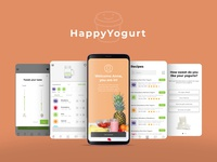 UX/UI for a Yogurt Blender Machine