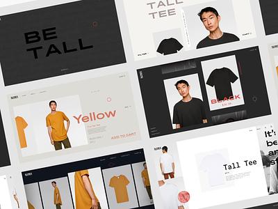 Style Tiles shop web design web sketchapp e-commerce typogaphy editorial minimal after effects motion ui design