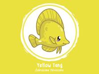 Huevember 01 // Yellow Tang