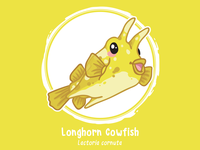 Huevember 02 // Longhorn Cowfish