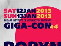Giga-con Artist Poster