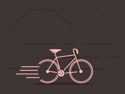 Road Bike Illustration