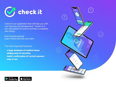 Check.it design mobile app app design mobile app ux ui ux ui