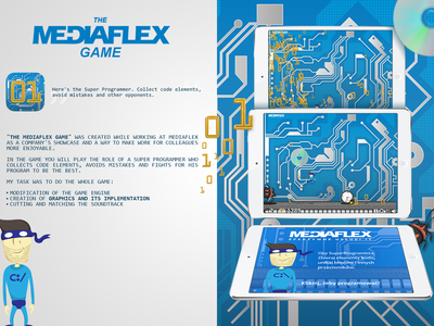 The Mediaflex Game mobile animation character design web mobile ios game