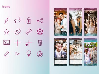 PicTime icon design app android ios app design ux ui ux ui mobile app app mobile