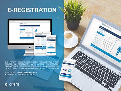 E-Registration healthcare health web webdesign design app mobile app mobile app app design ux ui ui ux