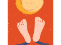 Summer: sun feet