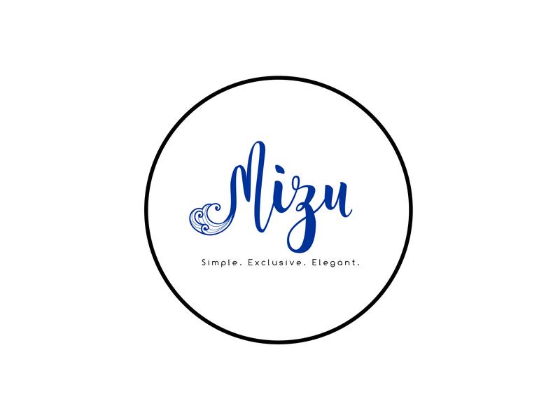 Mizu Logo logo design graphic design graphic circular vector branding design logo