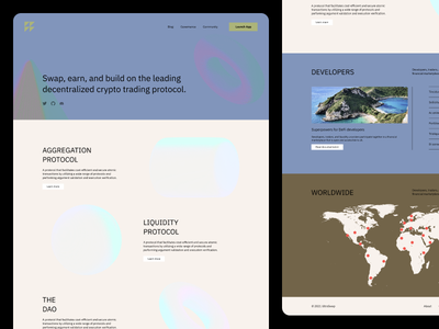 dApp   Landing Page simple beige modern modernist 1960s japanese branding web design minimal web ui ux clean design