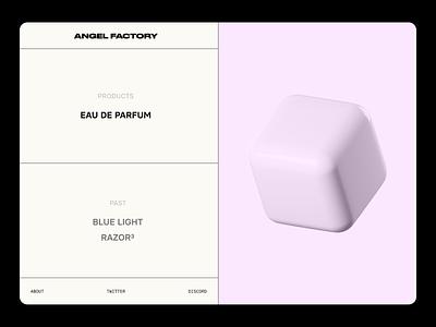 NFT Project   Landing Page simple brutalist art nft pink 3d web design minimal web ui ux clean design