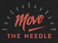 T-shirt Design: Move The Needle