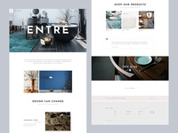 Entre - An Elegant Interior Design and Décor WordPress Theme