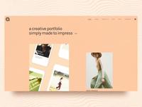 Agava - Design Portfolio Theme