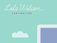 Copywriter website