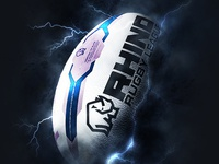 Splash screen - Rugby League App