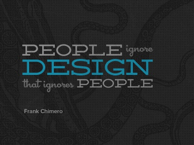 My Favorite Design Quote frank chimero quote octopus typography