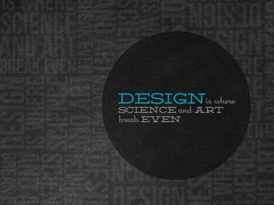 Design Quote Poster (#2) blue deming quote typography