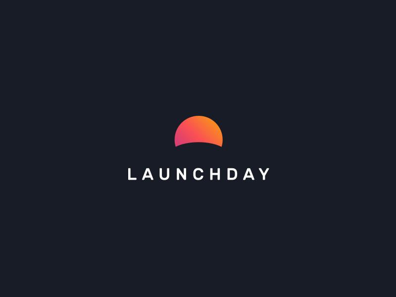 Launchday Logo dark sun logo
