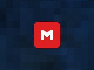 Memory red blue pixellated m memoryapp memory