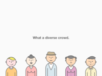 Crowd of Personas
