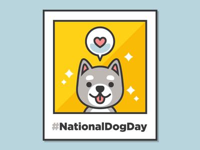 National Dog Day national dog day cute cute dog kawaii dog