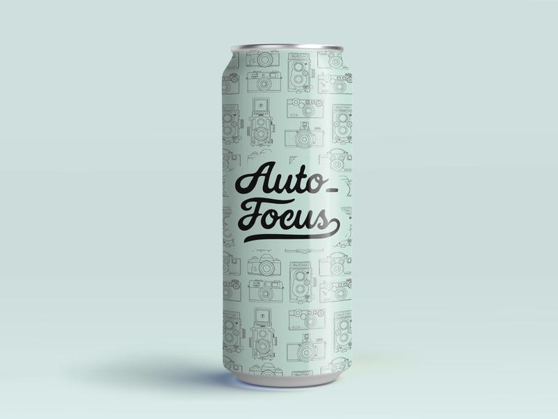 Autofocus logo illustration branding design