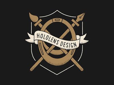 Hololens Design logo branding illustration vector design
