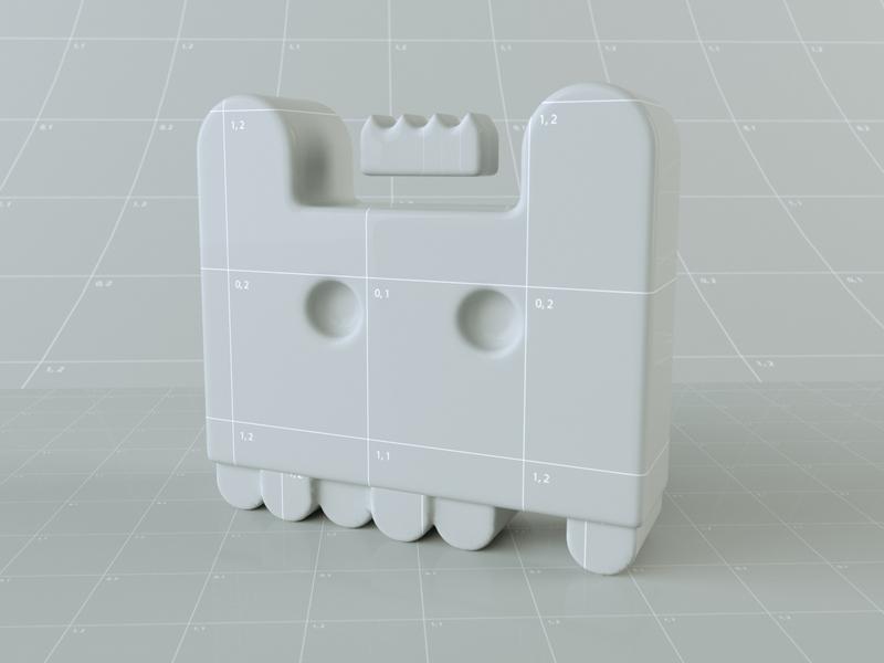 King Bear Grid 3dartist 3-d seattledesigner seattle kingbear vector grid design grid rendering 3drender render cinema4d c4d 3dart 3d