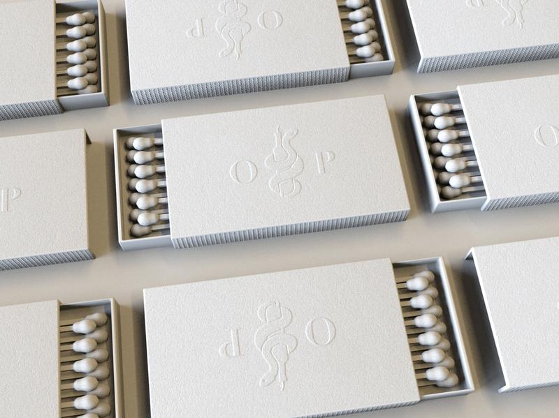 Olio E Pepe Matchbook render octanerender octane 3drender logo isometric illustrator branding 3d flat c4d vector illustration design