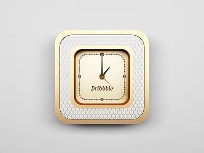 Dribbble Box Clock (c'mon rebound) box dribbble clock rebound