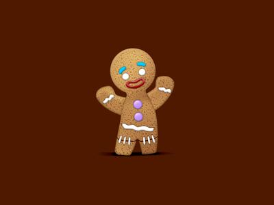 Cookie of Shrek cake shrek illustration biscuit cookie