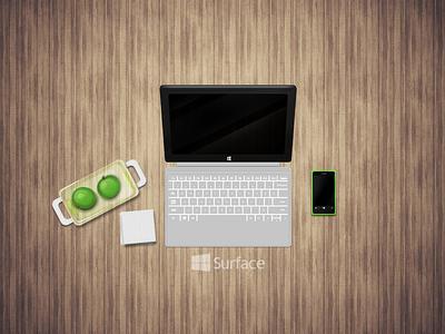 Surface 2 surface shapes fun windows wp8 apple