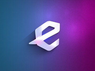 e - new logo (elysium) logo flat e elysium